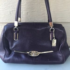 Coach Leather Bag Purse